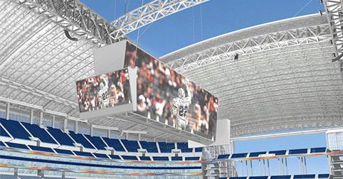 Dallas Cowboys stadium roof