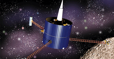 NASA's Lunar Propector spacecraft