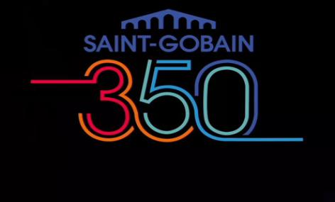 Saint-Gobain 350th commemorative logo